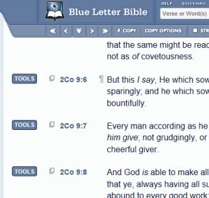 Blue Letter Bible | Treasure Me Up